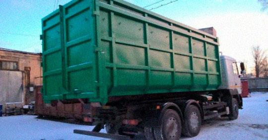 вывоз мусора больших объемов в Балашихе