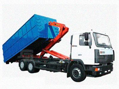 вывоза мусора контейнерами 8, 20, 27 кубов в Ильинском