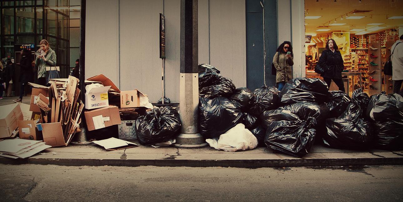 Организация вывоза мусора в Электроуглях